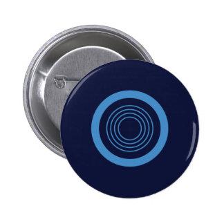 Modern stippatroon om Knoop Ronde Button 5,7 Cm