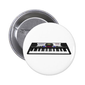 Modern Toetsenbord Synth: 3D Model: Ronde Button 5,7 Cm