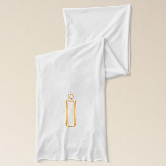 Moderne Christelijke Kaars Sjaal