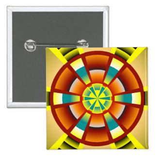 Moderne cirkelknoop speld buttons