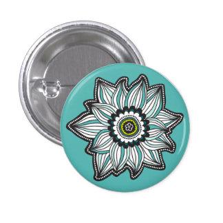 Moderne de bloemknoop van de Zaligheid Speld Button