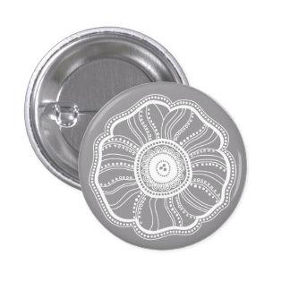 Moderne de bloemknoop van de Zaligheid Buttons