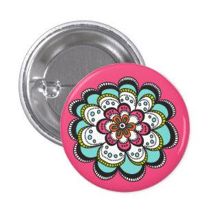 Moderne de bloemknoop van de Zaligheid Speld Buttons