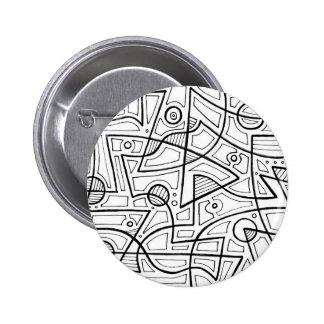 Moderne Gladde Mooie Luxueus Ronde Button 5,7 Cm
