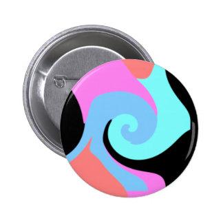 Moderne Samenvatting Ronde Button 5,7 Cm