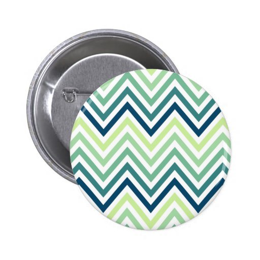 Moderne Trendy Kleurrijke Chevron Speld Button
