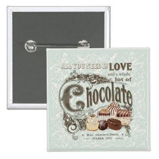 moderne vintage Franse chocolade