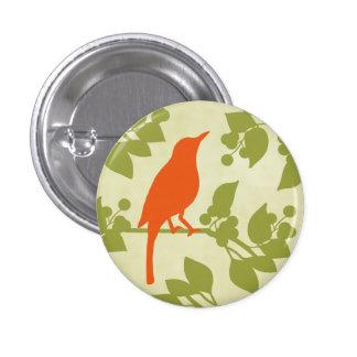 Moderne Vogel Ronde Button 3,2 Cm