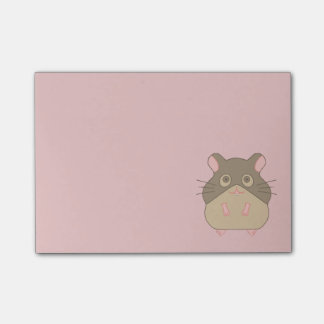 Mollige Hamster Post-it® Notes