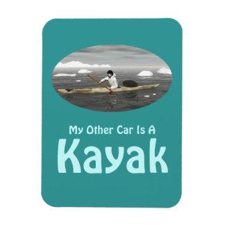 Mon autre voiture est un kayak magnet en vinyle