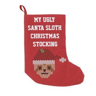 Mon bas laid de Noël de paresse de Père Noël Petite Chaussette De Noël