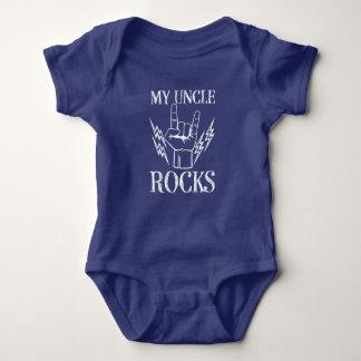 Mon bébé drôle de chemise de neveu d'oncle Rocks Body