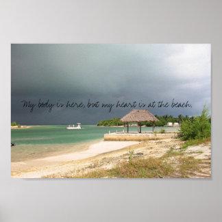 Mon coeur est à la plage