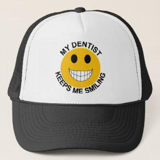 Mon dentiste me garde casquette de sourire de