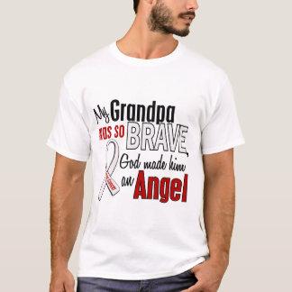 Mon grand-papa est un cancer de poumon d'ange t-shirt