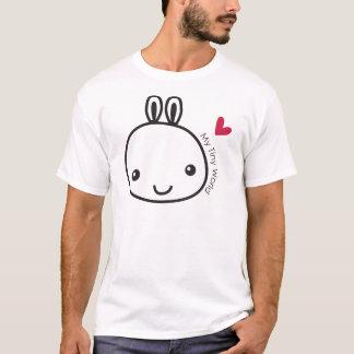 Mon lapin minuscule t-shirt