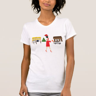 Mon Noël dedans en centre ville T-shirt