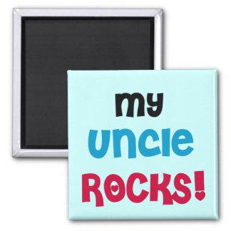 Mon oncle Rocks T-shirts et cadeaux Magnet Carré