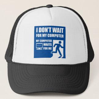 Mon ordinateur m'attend casquette