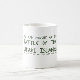Mon papa a combattu à la bataille des îles de mug