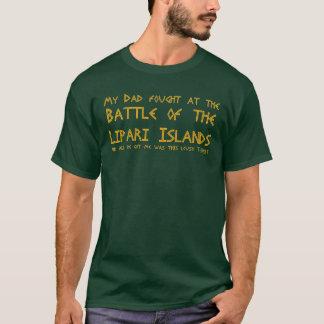 Mon papa a combattu à la bataille des îles de t-shirt