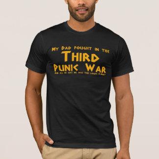 Mon papa a combattu dans la troisième guerre Punic T-shirt