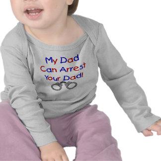Mon papa peut arrêter votre papa t-shirt