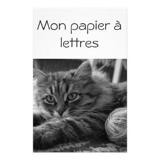 Mon papier à lettres papeterie