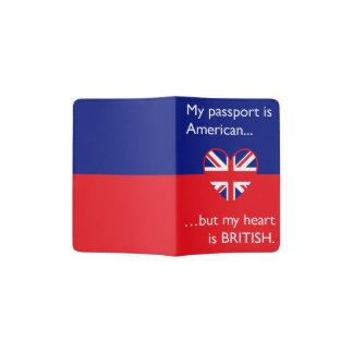 """""""Mon passeport est américain, mais mon coeur est Protège-passeports"""