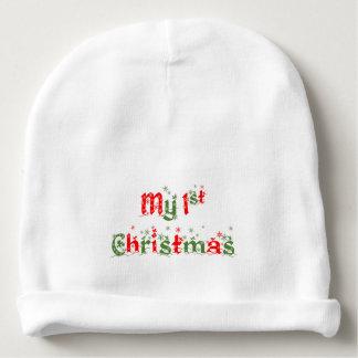 Mon premier casquette de Noël Bonnet Pour Bébé