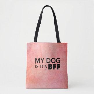 Mon sac fourre-tout à remous de rose de BFF