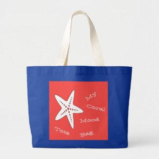 Mon sac fourre-tout de corail à étoiles de mer