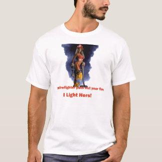 Mon T-shirt de sapeur-pompier