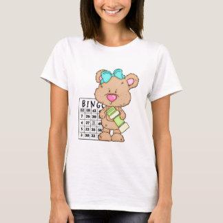Mon T-shirt d'ours de bingo-test d'amusement