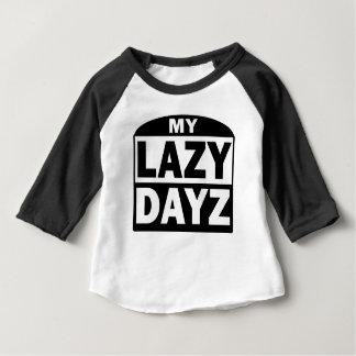 Mon T-shirt drôle mignon paresseux de blanc de