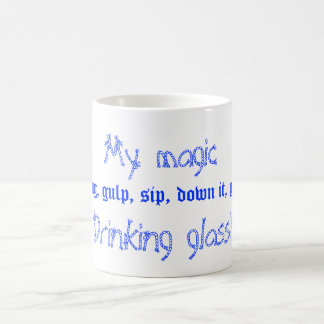 mon verre magique de boissons mug magic