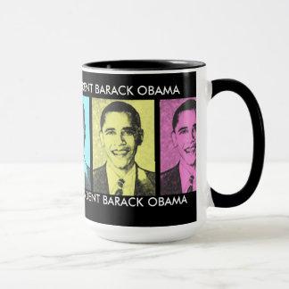 Mon vote aidé à élire la tasse de Barack Obama