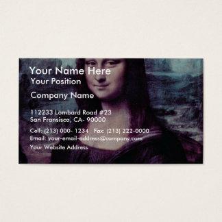 Mona Lisa (La Giaconda) par Leonardo da Vinci (Bes Cartes De Visite