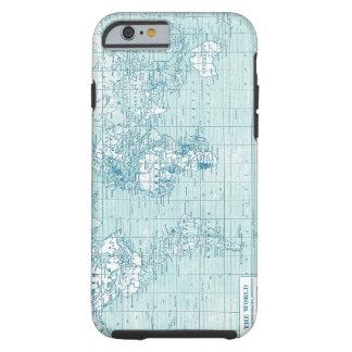 Monde bleu frais - collection coque iPhone 6 tough
