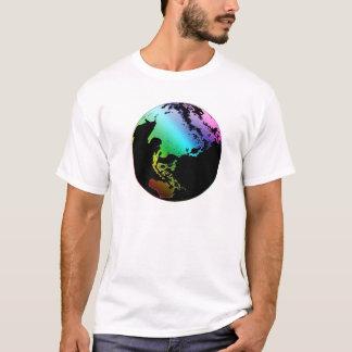 Monde de couleur t-shirt
