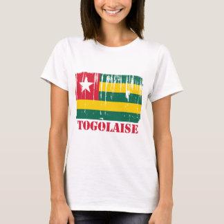 Monde de drapeau du Togo T-shirt
