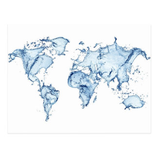 Monde de l'eau cartes postales