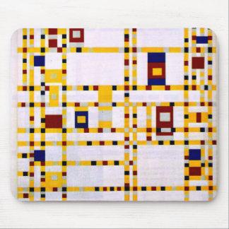 Mondrian - boogie Woogie de Broadway Tapis De Souris