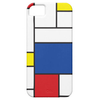 Mondrian Minimalist DE Stijl Art iPhone 5 CaseMate iPhone 5 Covers