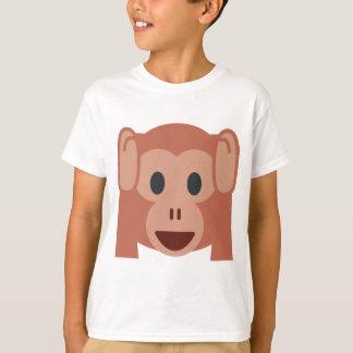 Monkey emoji t shirt