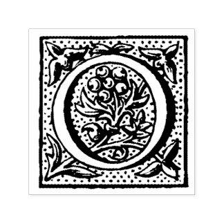Monogram van de Brief O van de renaissance het Zelfinktende Stempel