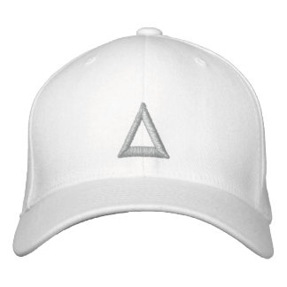 monogramm casquette brodée