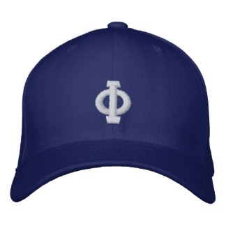monogramm casquettes brodées