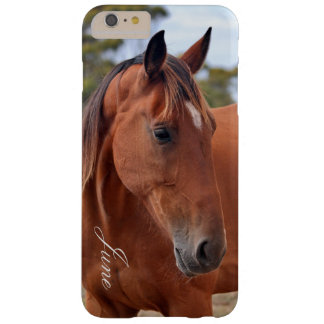 Monogramme de cheval coque iPhone 6 plus barely there