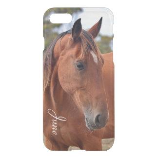 Monogramme de cheval coque iPhone 7